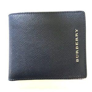 Black Burberry Bifold Wallet